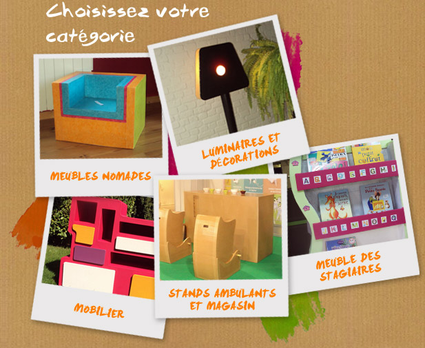 le show du carton cr ation de meuble en carton. Black Bedroom Furniture Sets. Home Design Ideas