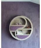Cr ation de meubles et d corations en carton for Meuble ying yang